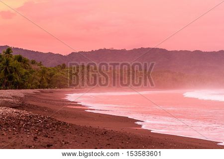 Sunset On The Beach
