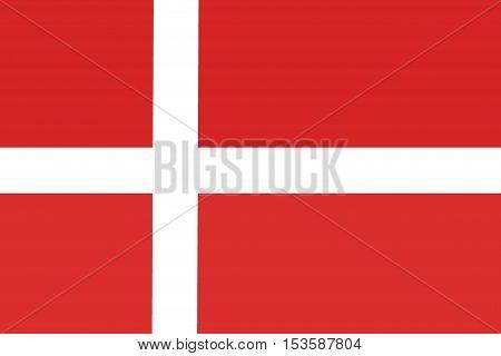 Denmark flag, Denmark national flag illustration symbol.