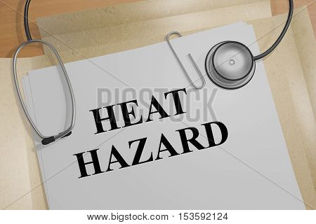 Heat Hazard - Medical Concept