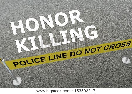 Honor Killing Concept