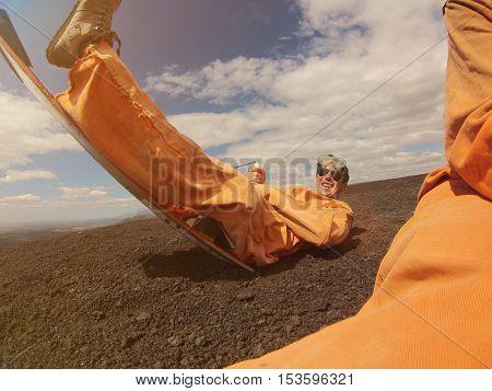 Volcano Boarding Activity