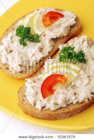 Tuna fishpaste snack