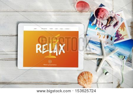 Vacation Break Relax Chill Concept