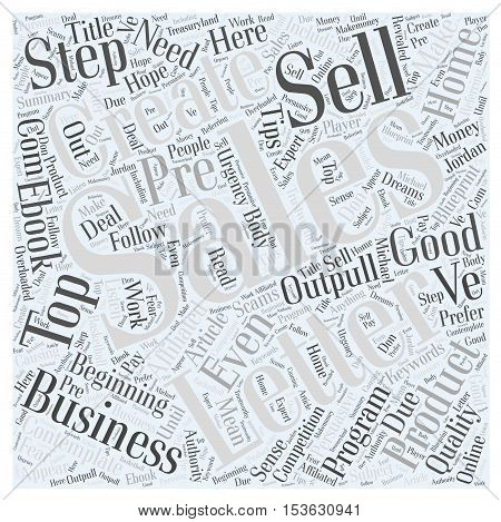 Top Tips To Create a Persuasive Sales Letter For Your Business word cloud concept