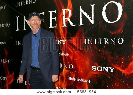 LOS ANGELES - OCT 25:  Ron Howard at the