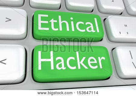 Ethical Hacker Concept