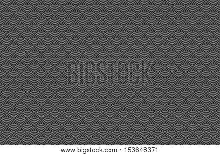 Chinese Grey Black Seamless Pattern Dragon Fish Scales Simple Seamless Pattern Nature Background Wit