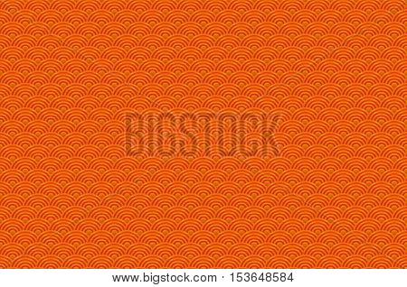 Chinese Orange Seamless Pattern Dragon Fish Scales Simple Seamless Pattern Nature Background With Ja