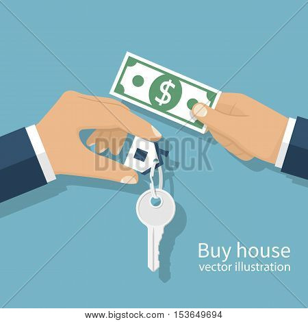 Buying House Concept.