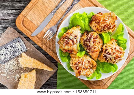Delicious Stuffed  Chicken Breast Baked In Oven