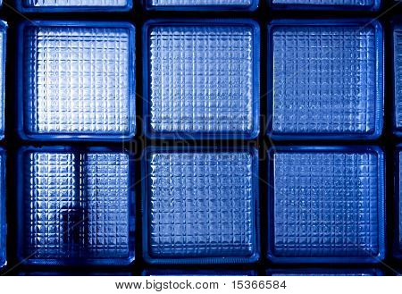 Blue opaque glass. Texture or background.