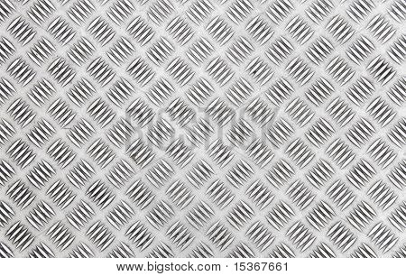 Chequer metal texture or background.