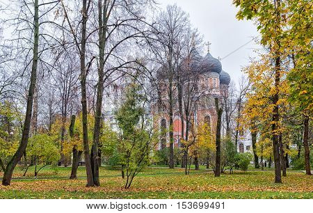 Cathedral of Intercession in the Izmaylovo district Moscow Russia.