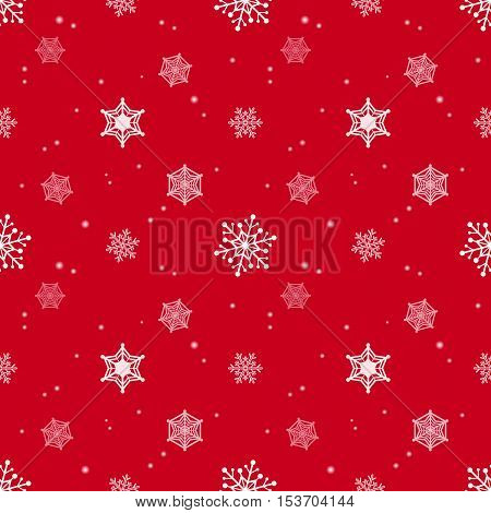 snowflake red colour background christmas pattern tint layer wallpaper
