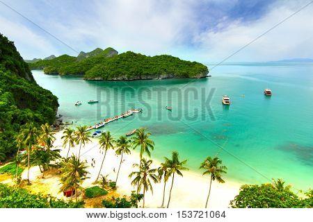 Paradise island. in Koh Samui,  suratthani Thailand