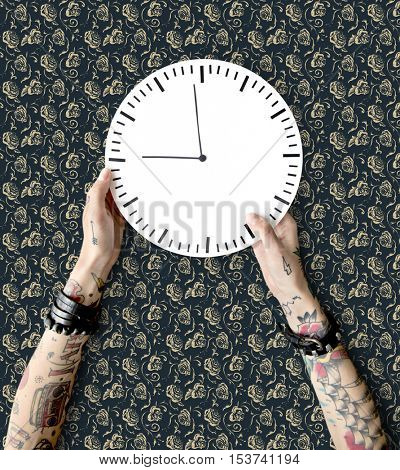 Tattoo Time Schedule Duration Punctual Second Concept