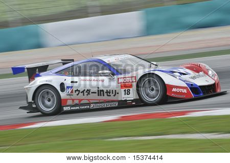 2010 AUTOBACS JAPAN SUPER GT SERIES - WEIDER HONDA RACING