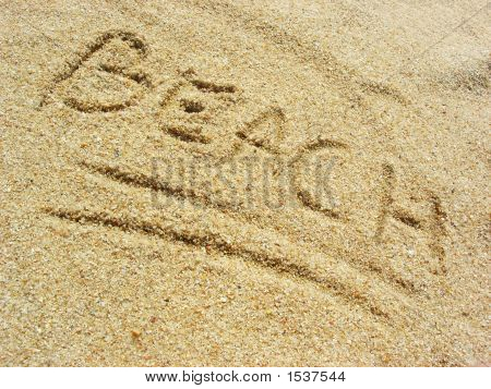 Beach On The Sand