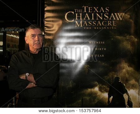 R. Lee Ermey at the Los Angeles premiere of 'The Texas Chainsaw Massacre: The Beginning' held at the Grauman's Chinese Theater in Hollywood, USA on October 5, 2006.