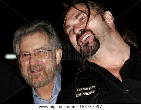 Tobe Hooper and Andrew Bryniarski at the Los Angeles premiere of 'The Texas Chainsaw Massacre: The Beginning' held at the Grauman's Chinese Theater in Hollywood, USA on October 5, 2006.