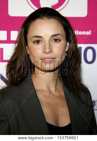 Mia Maestro at the LALIFF screening of 'Chagas: A Hidden Affliction' held at the Egyptian Arena Theatre in Hollywood, USA on October 7, 2006.