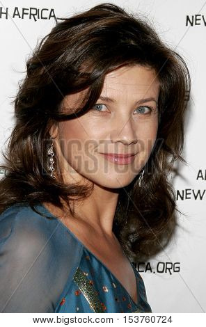 Daphne Zuniga at the Archbishop Desmond Tutu's 75th Birthday Party held at the Regent Beverly Wilshire Hotel in Beverly Hills, USA on September 18, 2006.