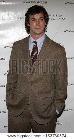 Noah Wyle at the Archbishop Desmond Tutu's 75th Birthday Party held at the Regent Beverly Wilshire Hotel in Beverly Hills, USA on September 18, 2006.
