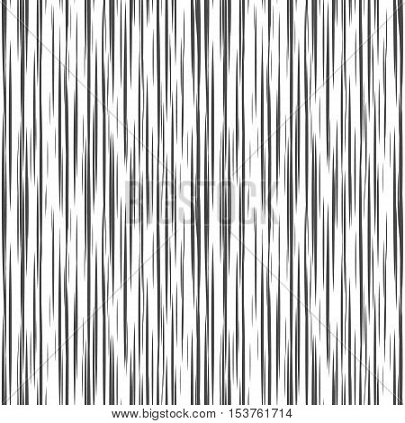 Striped Seamless Pattern With Horizontal Line. Black And White
