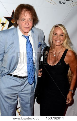 LOS ANGELES - OCT 25:  Eddie Money, guest at the Hollywood Walk of Fame Honors at Taglyan Complex on October 25, 2016 in Los Angeles, CA