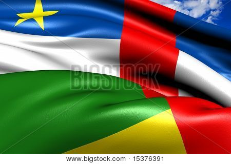 Flag Of Central African Republic