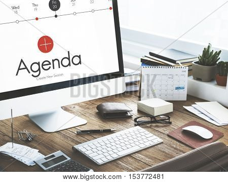 Agenda Appointment Calendar Events Concept