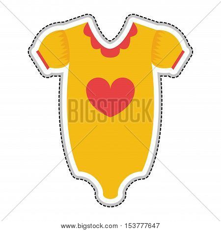 baby onesie icon image vector illustration design