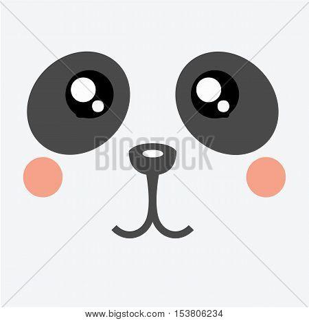 Panda Kawaii Cartoon Cute Icon Vector Photo Bigstock