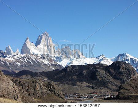 Fitz Roy Mountains - Patagonia - El Chaltén, Argentina