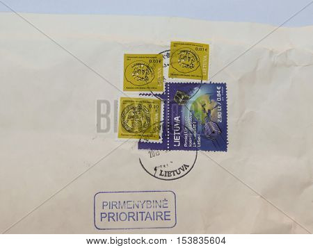 Stamps From Lithuania