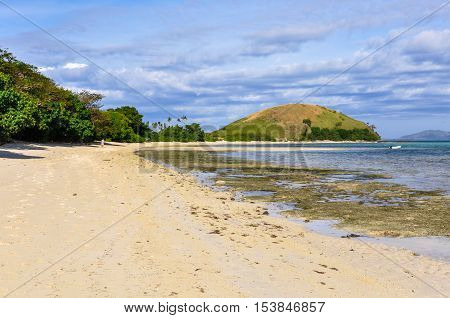 On The Beach In Mana Island, Fiji