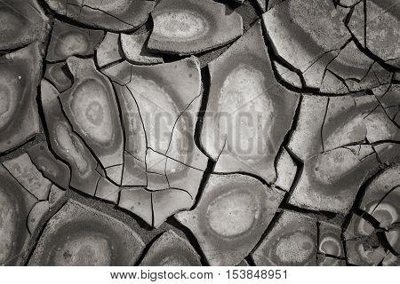 Dry Mud Land Background Texture