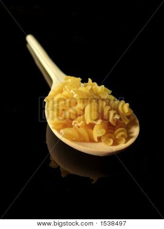 Pasta And Tablespoon