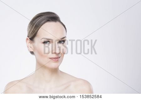 Young Woman With Perfect Complexion