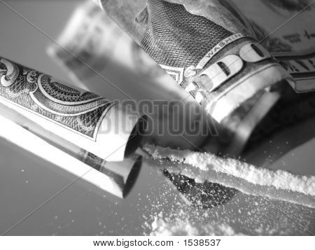Cocaine And Dollars