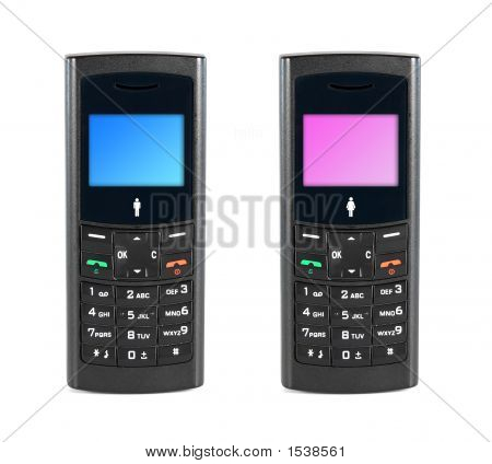 Mobile Phone Male And Female
