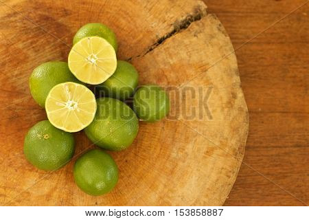 Key lime Som tum thai food Ingredients