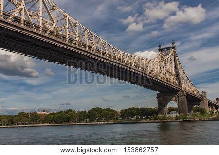 Queensboro Bridge In New York