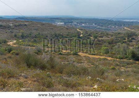 Landscape In The Mount Carmel National Park