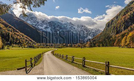 Logarska valley (Logarska dolina) near Solcava, Slovenia