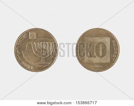 Israeli10 Agotor Coin
