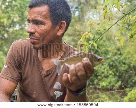 Fishing  The Piranha