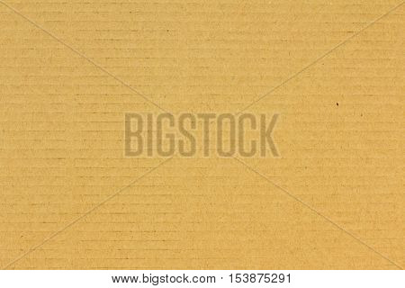 Closed up brown corrigated ardboard paper texture background