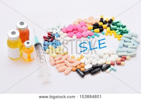 Drugs for systemic lupus erythematosus (SLE) treatment
