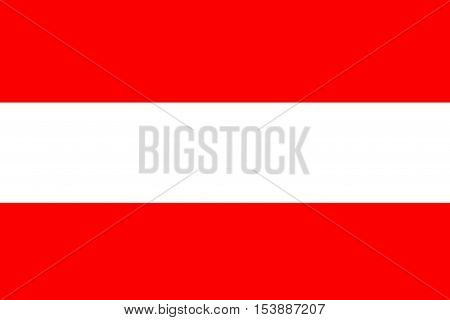 Austria flag ,Austria national flag illustration symbol.